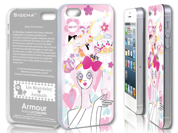 Sigema ProCase iPhone 5 Cover - Love Sweet - oo35mm