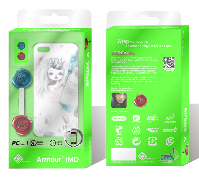 Sigema ProCase iPhone 5 Cover - Snow White Queen