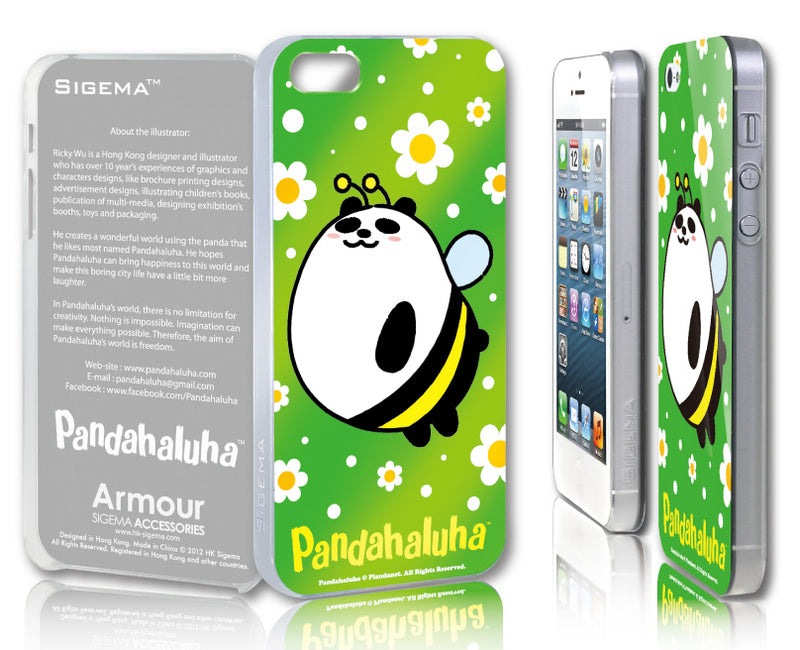 Sigema ProCase iPhone 5 Cover - Bee Panda - oo35mm