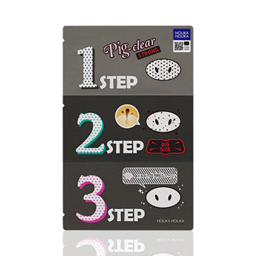 Holika Holika Pig-Nose Clear Blackhead 3-Step Kit Strong