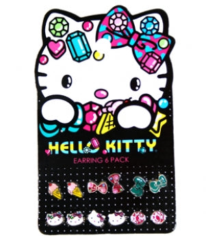Hello Kitty Jewels Earring Pack - oo35mm