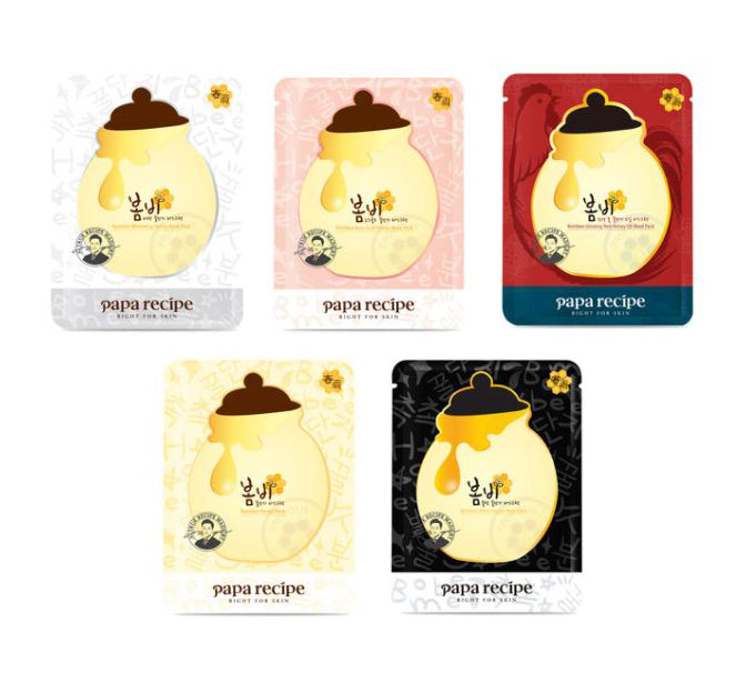 Papa Recipe Bombee Honey Mask 5 Pack
