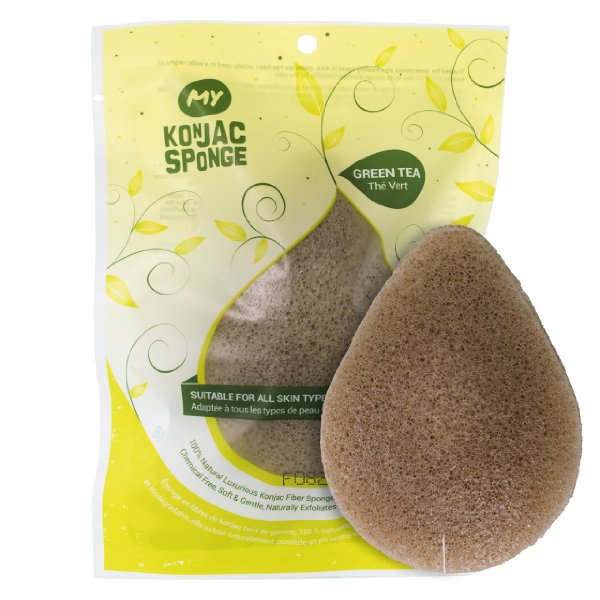 My Konjac Sponge Green Tea