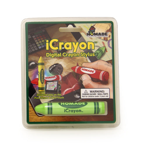 ThumbUp! iCrayon Stylus - Green - oo35mm