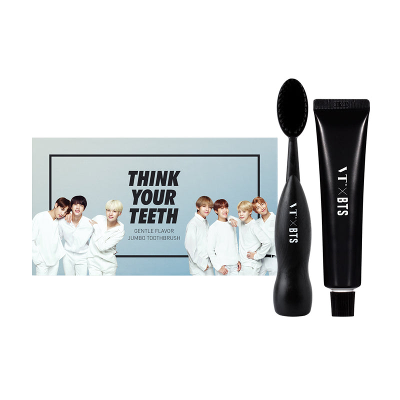VT x BTS Think Your Teeth Jumbo Toothbrush Black