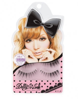 Koji Dolly Wink False Eyelashes #1 Dolly Sweet