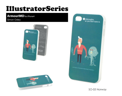 Sigema ProCase iPhone 4/4S Cover - Norway