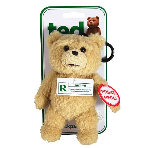 Ted Backpack Clip Rated R