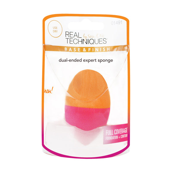 Real Techniques Dual Ended Expert Sponge - oo35mm