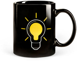 Lightbulb Thermostat Mug