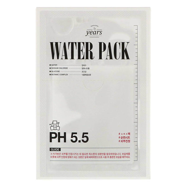23 Years Old 5.5 pH Water Pack