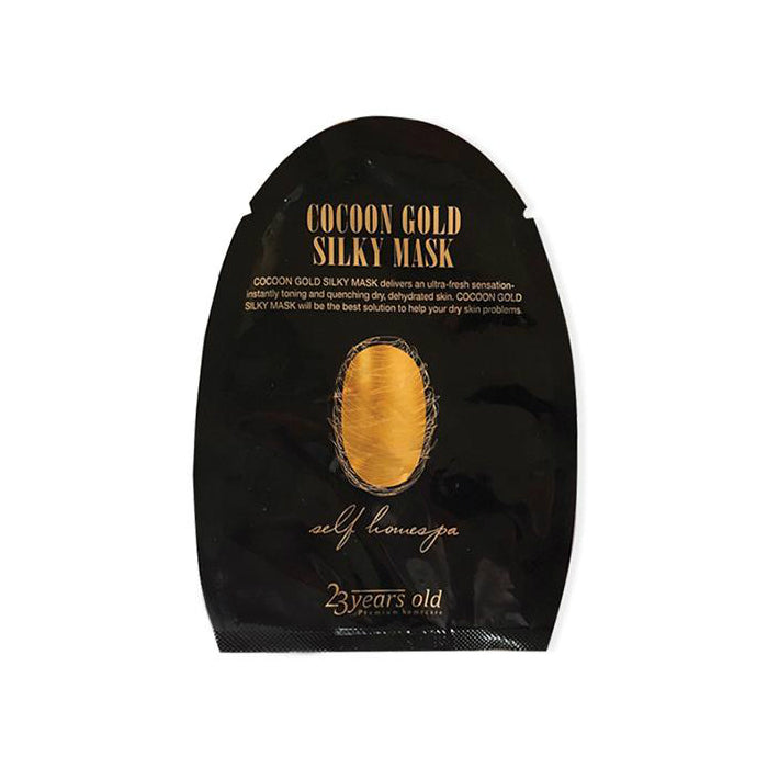 23 Years Old Cocoon Gold Silky Mask