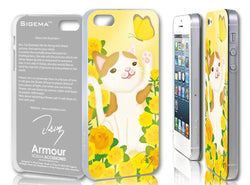 Sigema ProCase iPhone 5 Cover - Rose and Cat