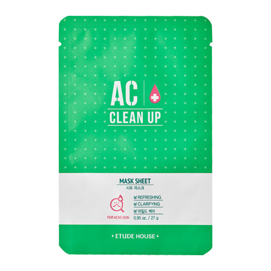 Etude House AC Clean Up Sheet Mask - oo35mm