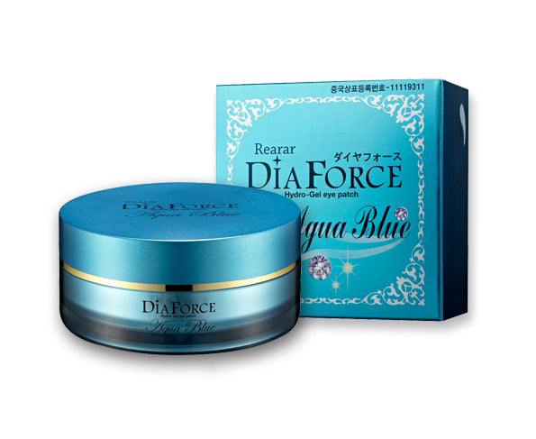DiaForce Aqua Blue Hydrogel Eye Patch 60ea