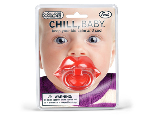 Chill, Baby Lips Pacifier - oo35mm