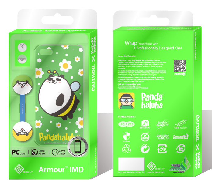 Sigema ProCase iPhone 5 Cover - Bee Panda