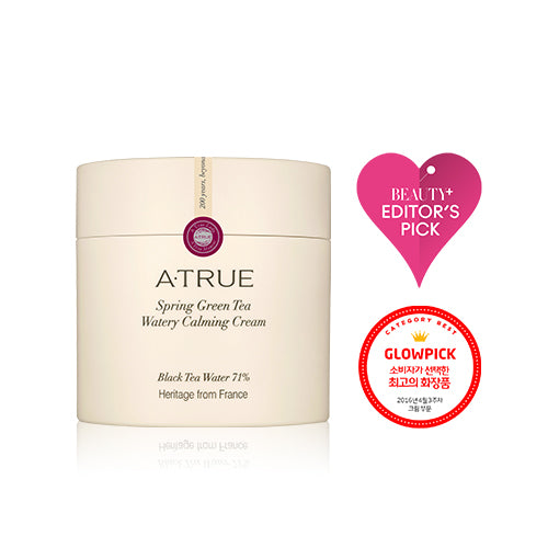 A. True Spring Green Tea Watery Calming Cream