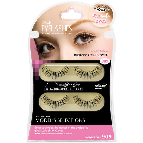 D.U.P False Eyelashes 909