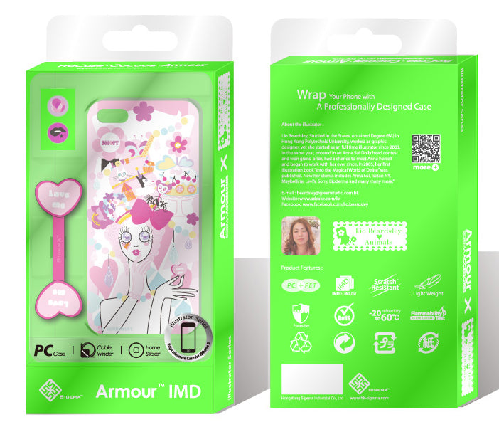 Sigema ProCase iPhone 5 Cover - Love Sweet
