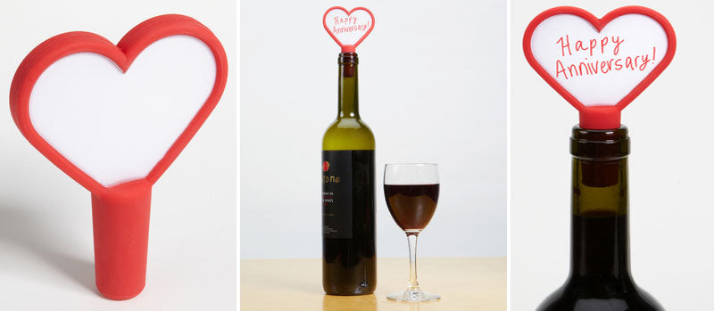 Love Notes Re-Usable Write-On Bottle Stopper