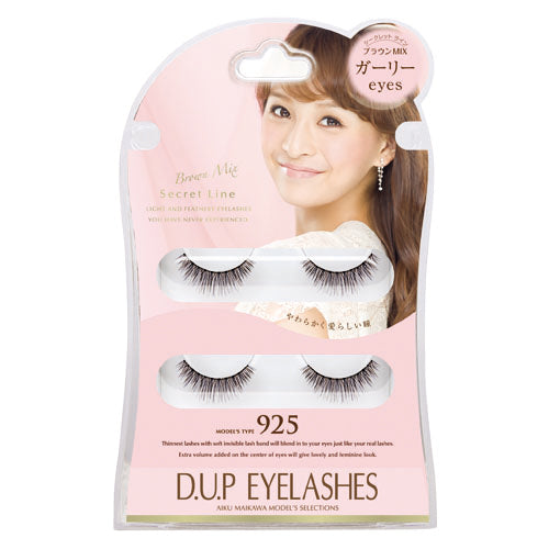 D.U.P Secret Line Eyelashes 925 - oo35mm