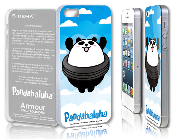 Sigema ProCase iPhone 5 Cover - Happy Panda - oo35mm