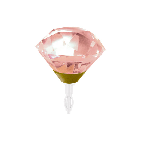 Decoppin Birthstone - Pink Tourmaline (October) - oo35mm