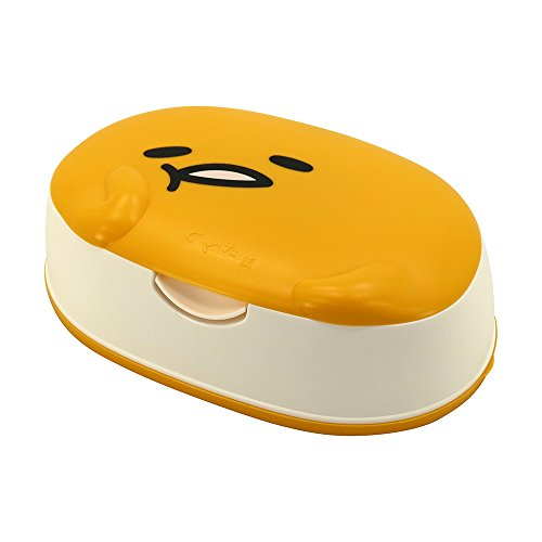 Lec Gudetama Wet Tissue With Case - oo35mm