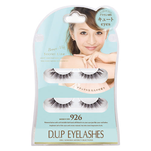 D.U.P Secret Line Eyelashes 926 - oo35mm