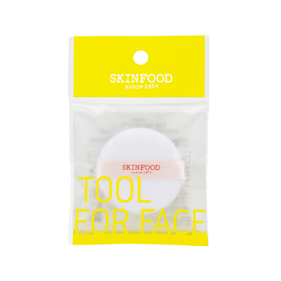 Skinfood Tool For Face Soft Powder Puff (Large)