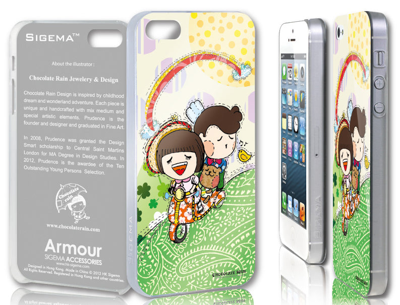 Sigema ProCase iPhone 5 Cover - Over the Rainbow - oo35mm