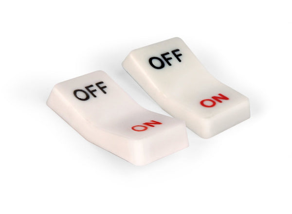On and Off Flip Switch Magnets - oo35mm