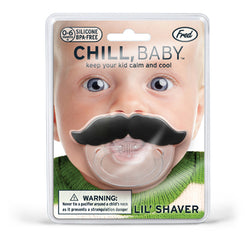 Chill Baby Mustache Pacifier - oo35mm