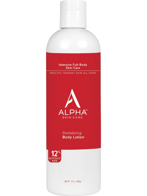 Alpha Skincare Revitalizing Body Lotion