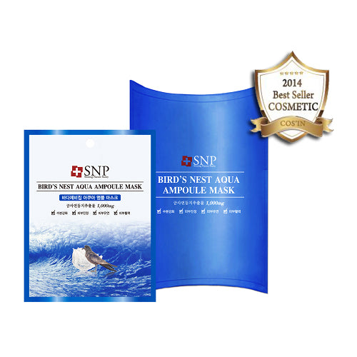SNP Birds Nest Aqua Ampoule Mask - oo35mm