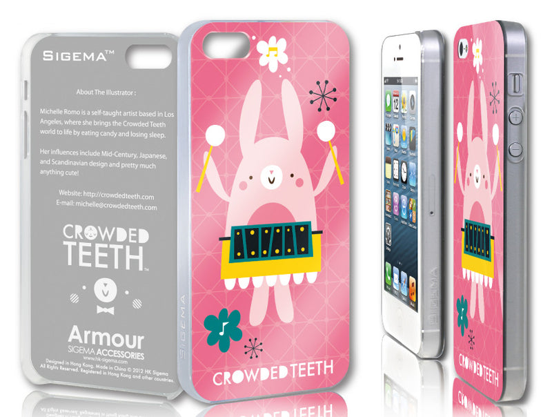 Sigema ProCase iPhone 5 Cover - Bunny Musician - oo35mm