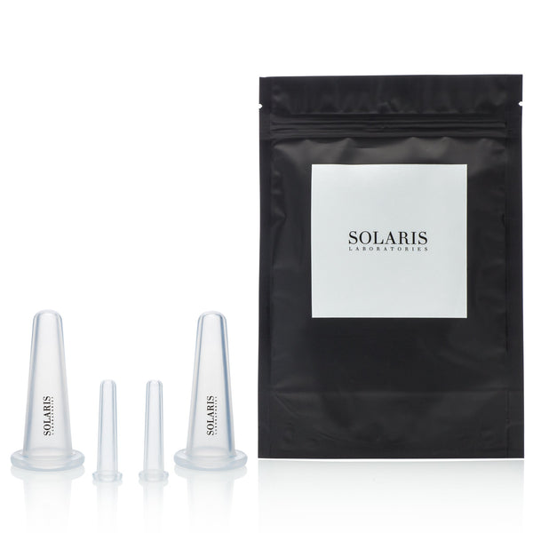 Solaris Facial Cupping Set 4pc