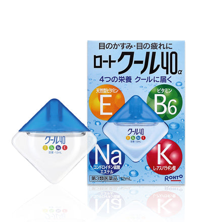 Rohto Cool 40a Eye Drops