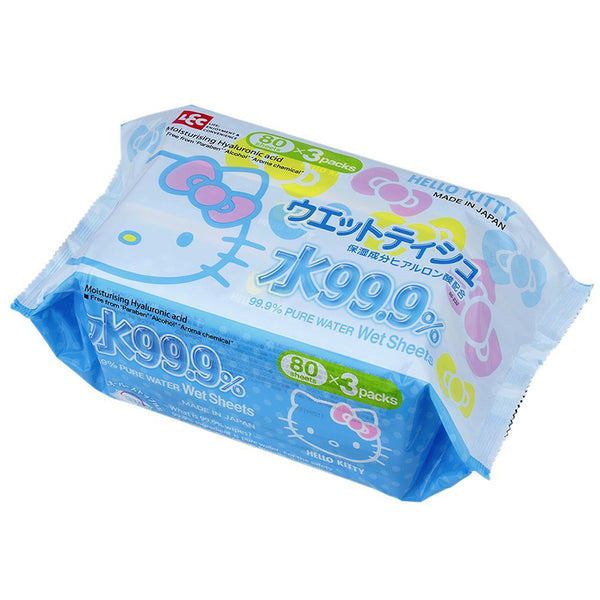 Lec Hello Kitty Wet Tissue 3 Set Value Pack - oo35mm