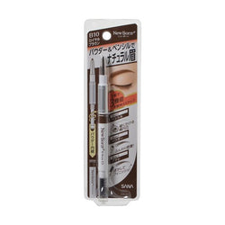 Sana New Born Eyebrow Mascara And Pencil Royal Brown