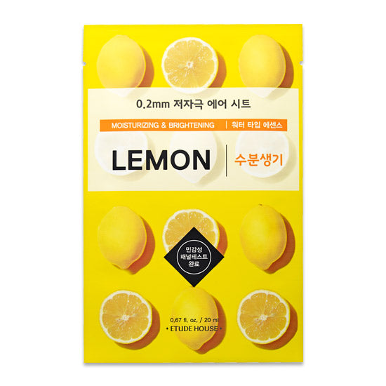 Etude House 0.2 Therapy Air Mask Lemon