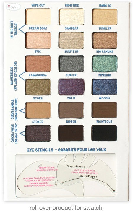 The Balm Balmsai® Eyeshadow and Brow Palette - oo35mm