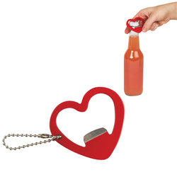 Heart Shaped Bottle Opener - oo35mm