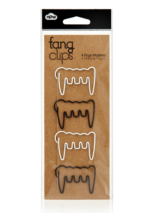 Fang Page Marker Clips