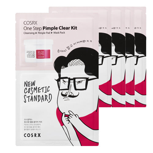 Cosrx One Step Pimple Clear Kit 10 Sheets