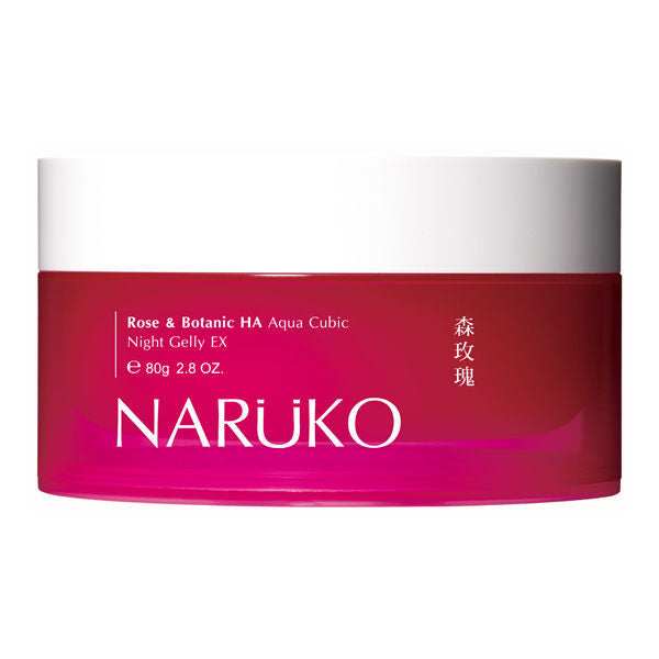Naruko Rose & Botanic HA Aqua Cubic Night Gelly EX