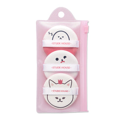 Etude House My Beauty Tool Air Puff 3 Set - oo35mm