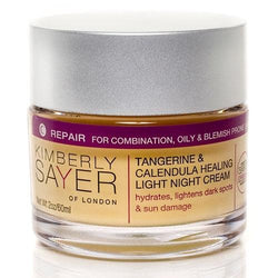 Kimberly Sayer Tangerine and Calendula Healing Light Night Cream