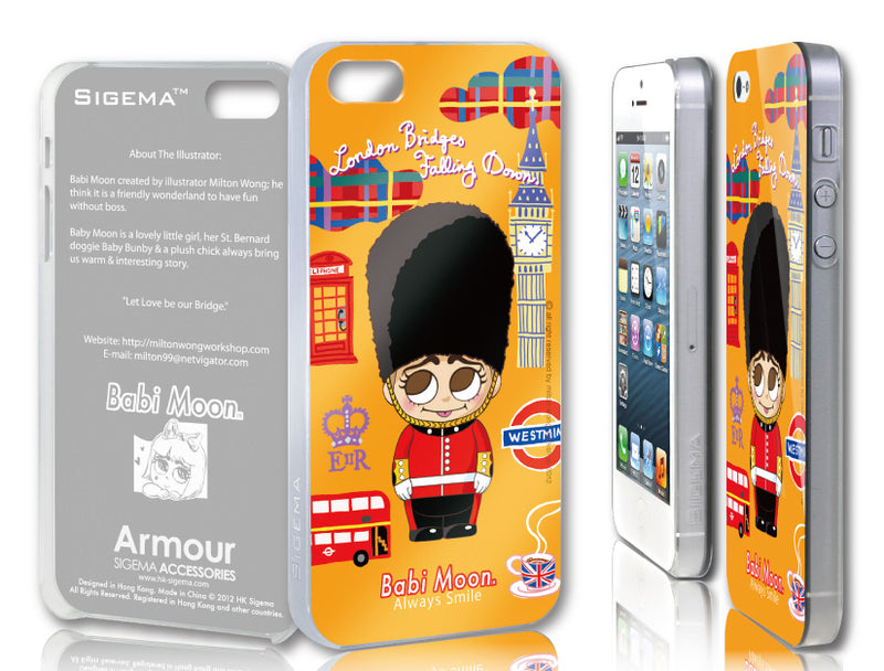Sigema ProCase iPhone 5 Cover - London Bridges